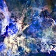 Carinae Nebula Poster by Michael Tompsett