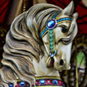 Carousel Horse  Poster by Paul Ward