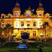 Casino Monte Carlo Poster by Jeff Kolker