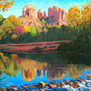 Cathedral Rock - Sedona Poster by Steve Simon