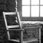 Chair By Window - Ireland Poster by Mike McGlothlen