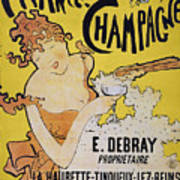 Champagne Poster, 1891 Poster by Granger