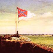 Chapman Fort Sumter Flag Poster by Granger