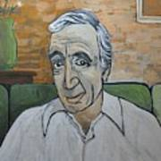 Charles Aznavour Poster by Reb Frost