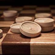 Checkers II Poster by Tom Mc Nemar