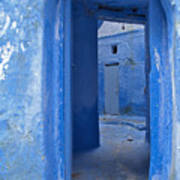 Chefchaouen 2 Poster by Kenton Smith