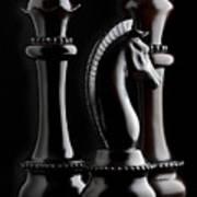 Chessmen II Poster by Tom Mc Nemar