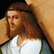 Christ Carrying The Cross Poster by Giovanni Bellini