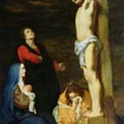 Christ On The Cross Poster by Gerard de Lairesse