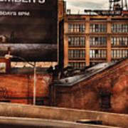 City - Ny - New York History Poster by Mike Savad