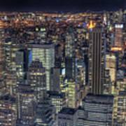 Cityscape Poster by Jason Pierce Photography (jasonpiercephotography.com)