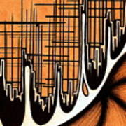 Cityscape One Poster by Jeff DOttavio
