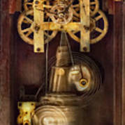 Clockmaker - The Mechanism  Poster by Mike Savad