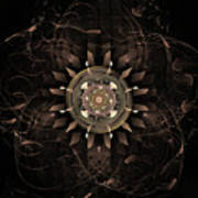 Clockwork Poster by John Edwards