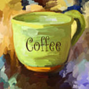 Coffee Cup Poster by Jai Johnson