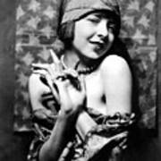 Colleen Moore, Around 1927 Poster by Everett