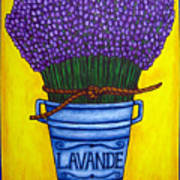 Colours Of Provence Poster by Lisa  Lorenz
