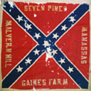 Confederate Flag Poster by Granger