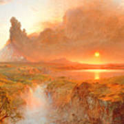 Cotopaxi Poster by Frederic Edwin Church
