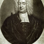 Cotton Mather 1663-1728 Poster by Granger