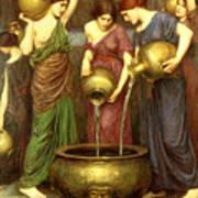 Danaides Poster by John William Waterhouse