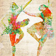 Dance With Me Poster by Nikki Smith