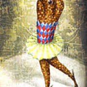 Dancer 3 Poster by Lolita Bronzini