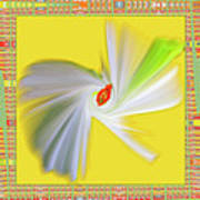 Dancing Flower Trio Poster by Ben and Raisa Gertsberg