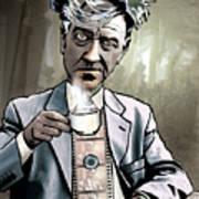 David Lynch - Strange Brew Poster by Sam Kirk