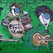 Davy Knowles And Back Door Slam Poster by Laurie Maves ART
