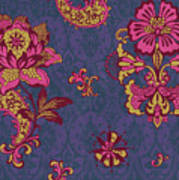 Deco Flower Purple Poster by JQ Licensing