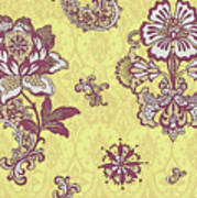 Deco Flower Yellow Poster by JQ Licensing