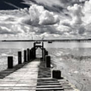 Derelict Wharf Poster by Avalon Fine Art Photography