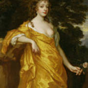 Diana Kirke-later Countess Of Oxford Poster by Sir Peter Lely