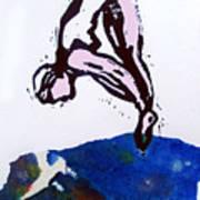 Dive - Sunlit Sea Poster by Adam Kissel