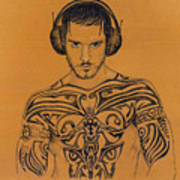 DJ Poster by Mon Graffito
