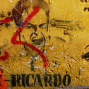 Don-ricardo Poster by Skip Hunt