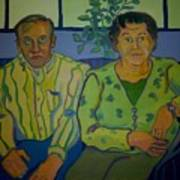 Dottie And Jerry Poster by Debra Robinson