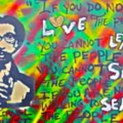 Dr. Cornel West  Love The People Poster by Tony B Conscious
