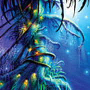 Dreaming Tree Poster by Philip Straub