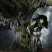 Dryad's Dance Poster by Mary Hood