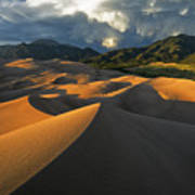 Dunescape Monsoon Poster by Joseph Rossbach
