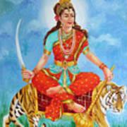 Durga Devi  Poster by Kalpana Talpade Ranadive