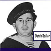 Dutch Sailor This Man Is Your Friend Poster by War Is Hell Store