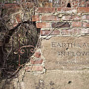 Earth Laughs In Flower Wall Poster by Tom Mc Nemar