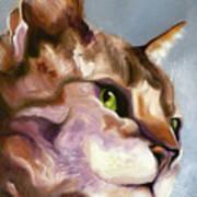 Egyptian Mau Princess Poster by Susan A Becker