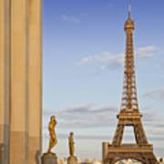 Eiffel Tower Paris Trocadero  Poster by Melanie Viola