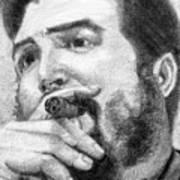 El Che Poster by Roberto Valdes Sanchez