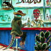 El Diablo Poster by Heather Calderon