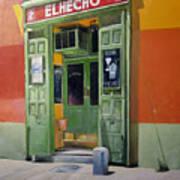 El Hecho Pub Poster by Tomas Castano